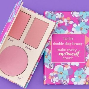 NWT Tarte Make Every Moment Count Cheek Pallette